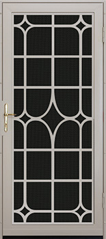 lexington solstice premium steel security door - Unique Home Designs Security Door