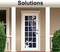 Unique Solutions Home Designs  Security Doors Screen And Window Guards
