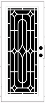 winchester trellis aluminum door - Unique Home Designs Security Door