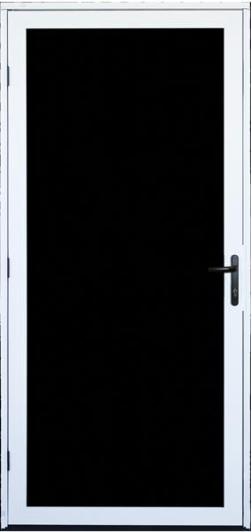 Recessed Mount Meshtec Ultimate Screen Door & Ultimate Screen Door Patio Screen Door and Storm Door | Unique Home ...