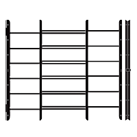 6-Bar-Hinged-Window-Guard